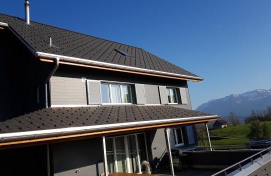 Neubau Uznach, Flachdach- und Spenglerarbeiten