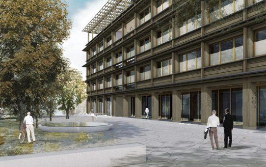 Neubau Hauptsitz EGK Gesundheitskasse, Laufen