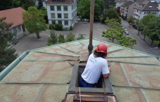 Dach-Bestandesaufnahme in Schlieren (ZH)