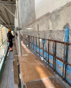 Fassadensanierung KW Letten
