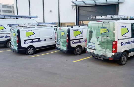 Flotte TECTON Kundendienst Neuenhof