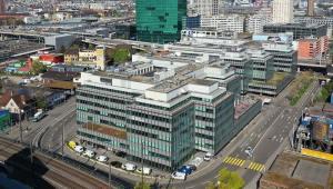 Luftaufnahme Neue Hard B-C, Zürich