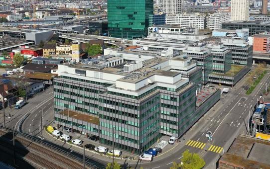 Sanierung Neue Hard B-C Zürich