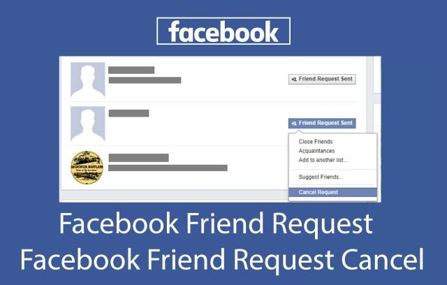 Facebook Friend Request - Facebook Friend Request Cancel