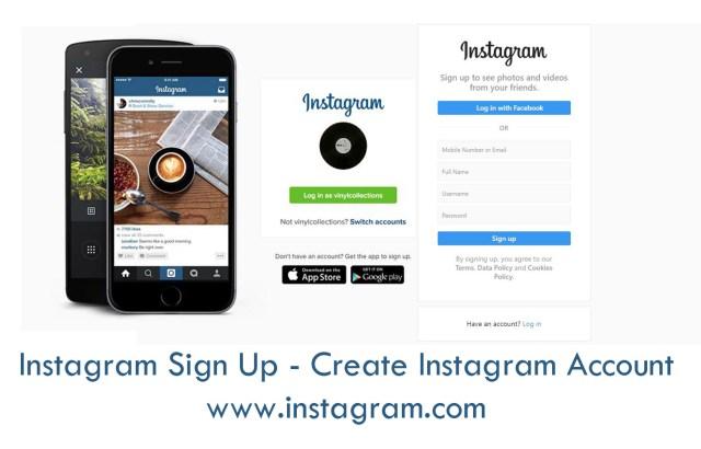 Instagram Sign Up - Create Instagram Account | www.instagram.com