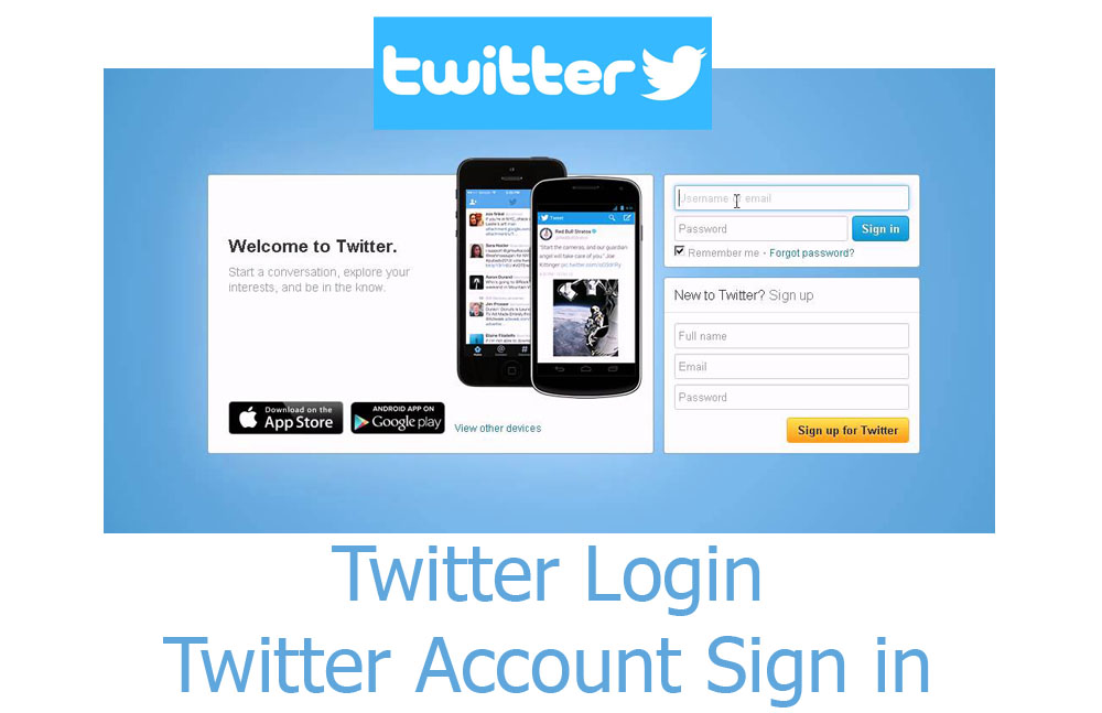 Twitter Login - Twitter Account Sign in