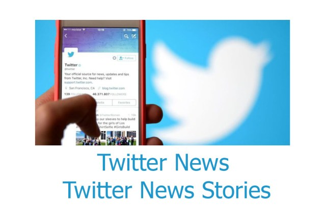 Twitter News - Twitter News Stories Section