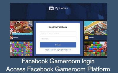 Facebook Gameroom login - Access Facebook Gameroom Platform