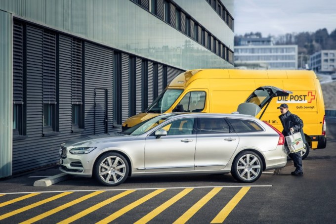 Volvo CH In car Delivery