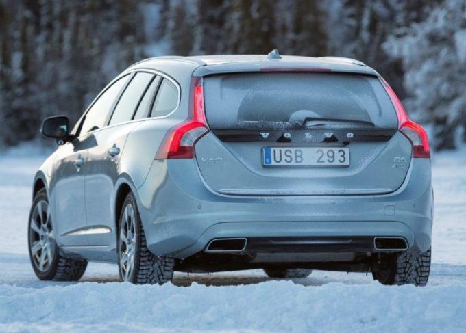 Volvo V60 neumáticos de invierno