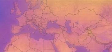 calentamiento global mapa 2100 global warming carbon brief