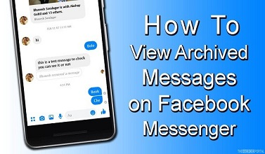 FACEBOOK ARCHIVED MESSAGES
