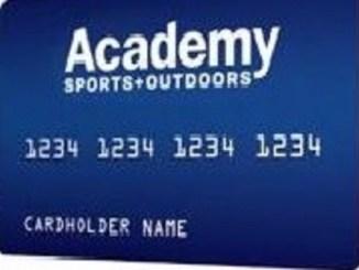 Academy Credit Card