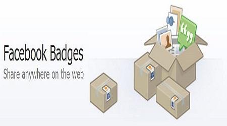 Facebook Badges- Facebook Badge