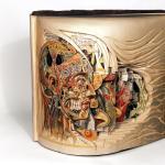 Brian Dettmer: Old books reborn as art
