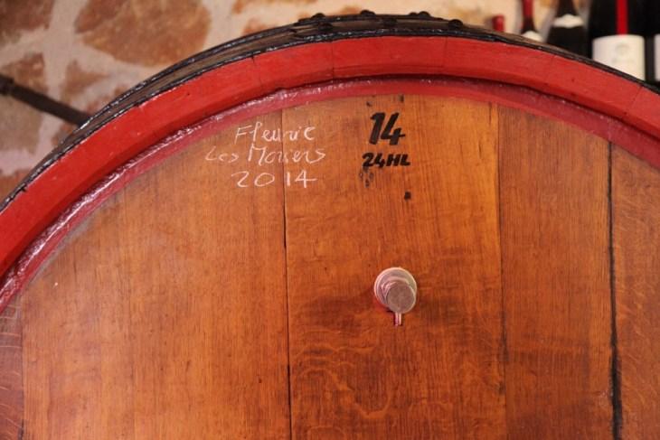LGV258 2015-05-24 france beaujolais fleurie wine barrel 2014 wood oak copy