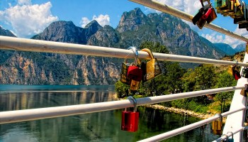 locks on mountains