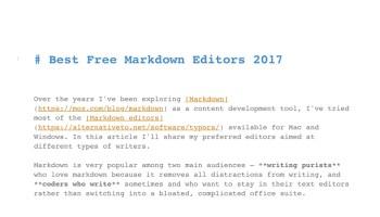best-free-markdown-editors-2017