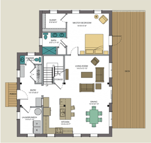 Tradd floorplan