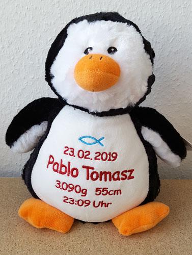Pinguin mit Namen