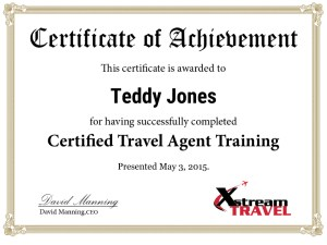 Paycation CTA Training Certificate