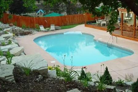 Oblique pool