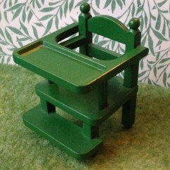 Green High Chair Long Couch Sofa Teddy Bears And Friends Sylvanian Families