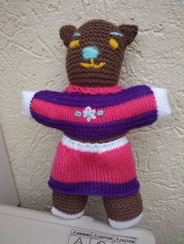 Made by Judy, Carindale with materials donated by Kathleen from New Zealand!