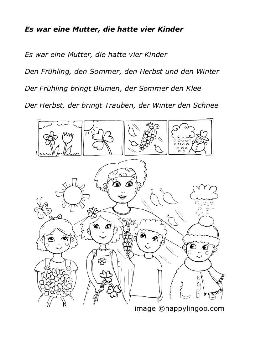 O Tannenbaum Kinderlied.Lieder Feste Und Jahreszeiten Teddylingua