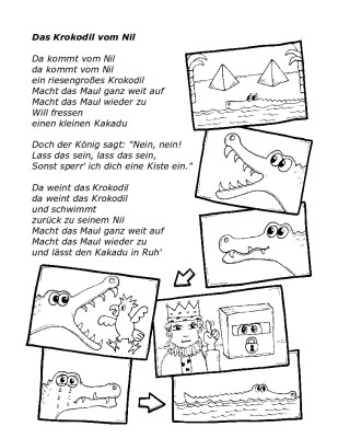 Text zum Lied: Krokodil vom Nil