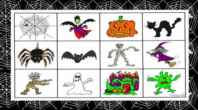 Lottospiel Halloween