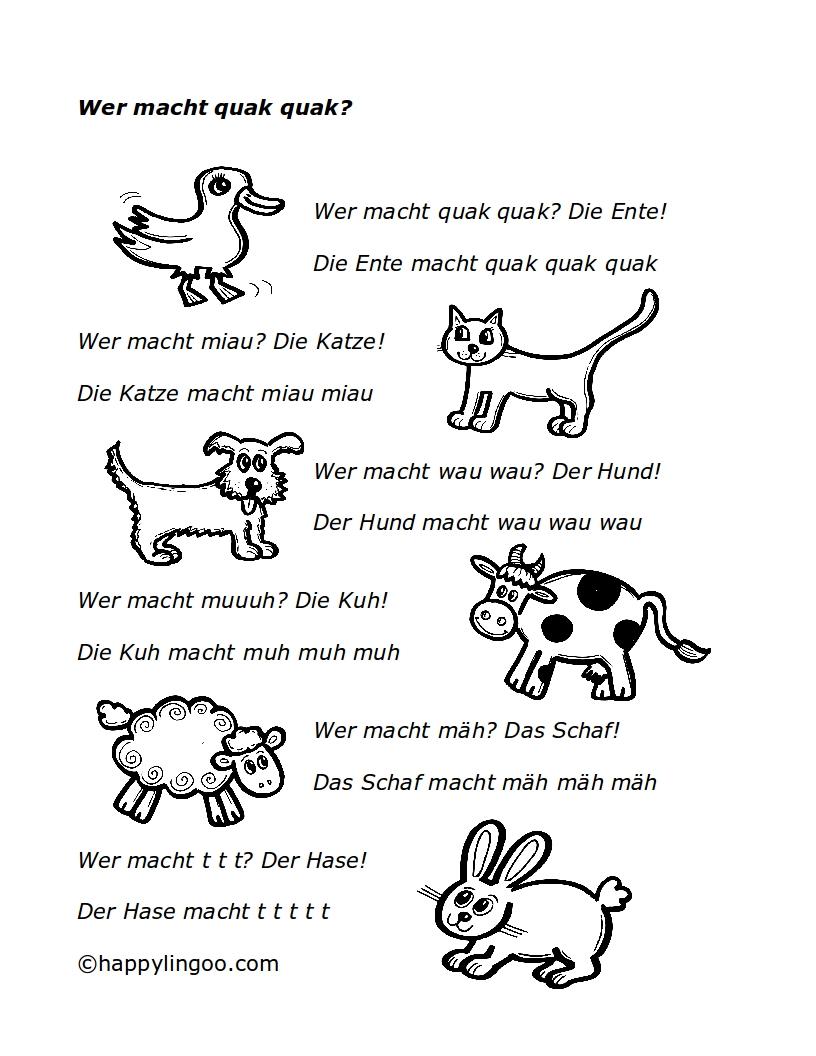 Lieder zum kennenlernen im kindergarten