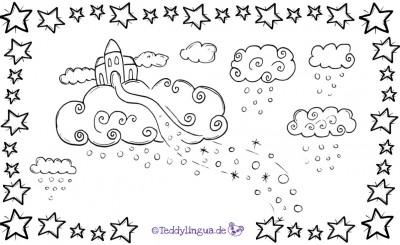 Du wohnst in den Wolken
