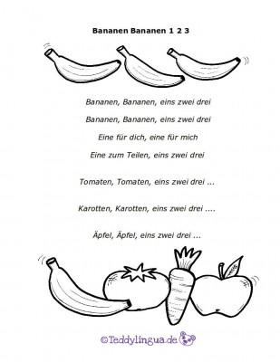 Bananen Bananen 123