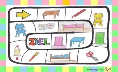 Brettspiel Kindergarten