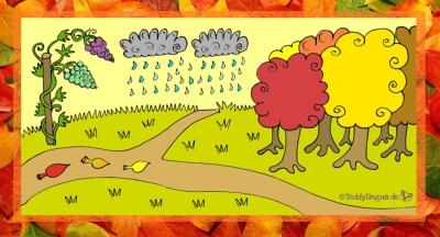 Der Herbst bringt uns Trauben