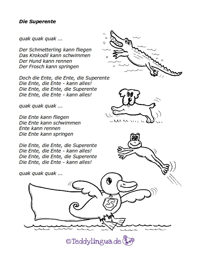 Ich Bin Ein Frosch Quak Quak