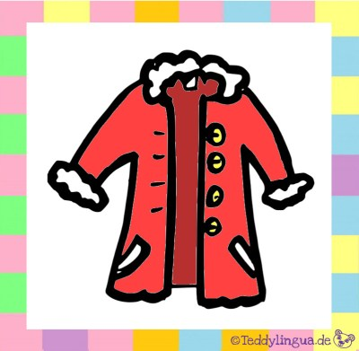 ein roter Mantel