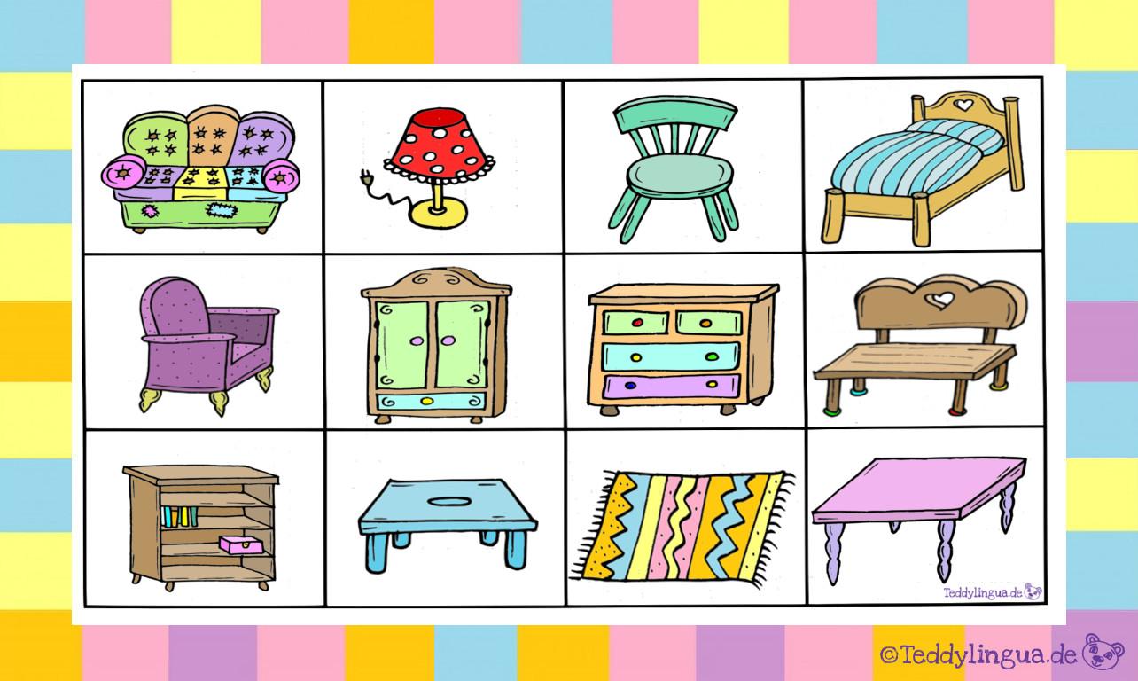 Möbel | Teddylingua
