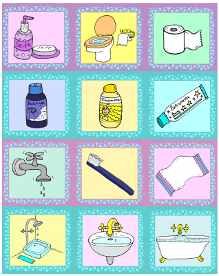 memoryspiel-lottospiel-bildkarten-badezimmer