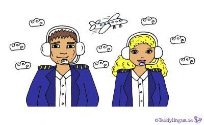 der Pilot, die Pilotin