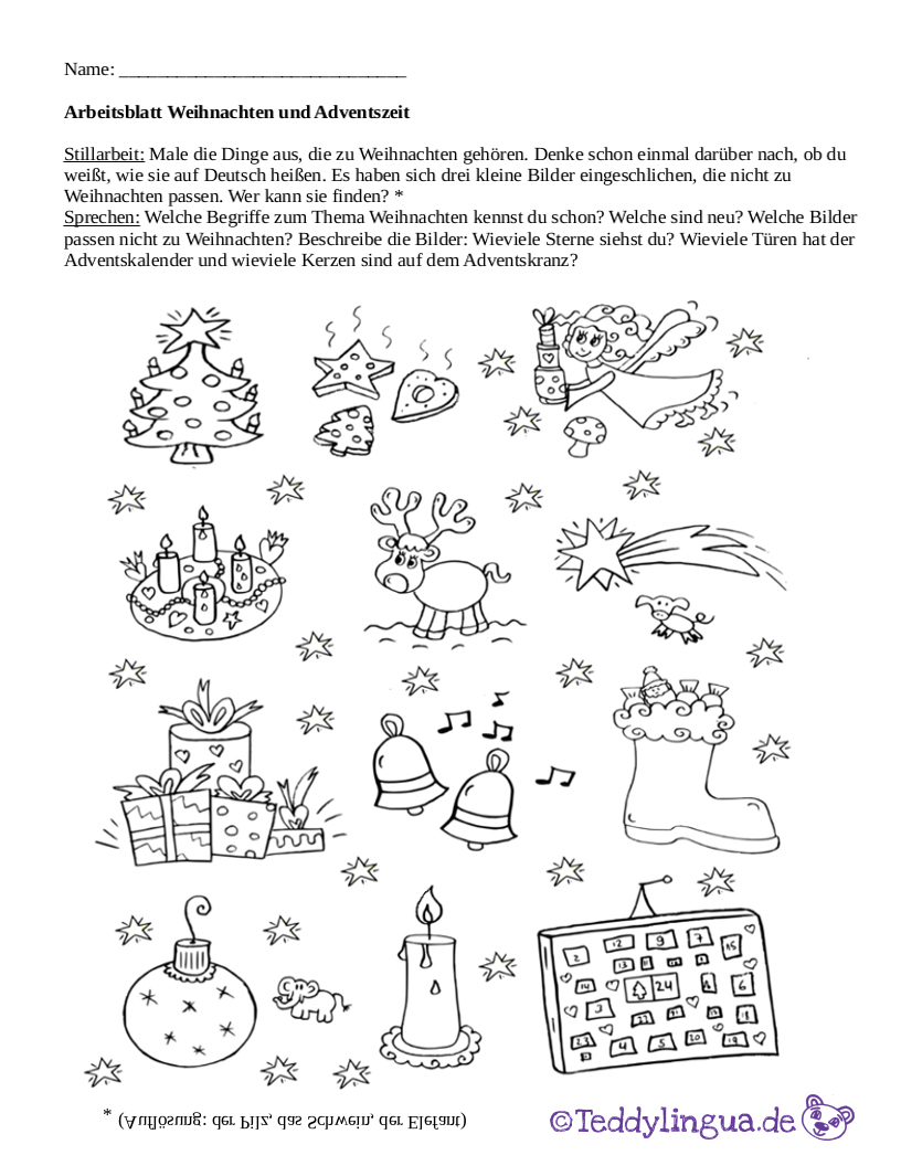 arbeitsblatt vorschule 187 arbeitsblatt advent kostenlose