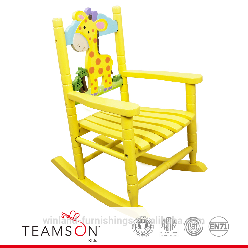 Child Wooden Rocking Chair Teamson Kids Lion Wooden Rocking Chair For Children Lion