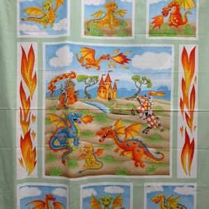 Quilt Panel Train your dragons
