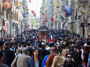 Istiklal caddesi, Isztambul (Forrás: www.birgunabone.net)