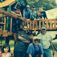 Press Release: Brunswick Rotary Club Donates and Erects New Playset for Tedford Housing's Emergency Family Shelter