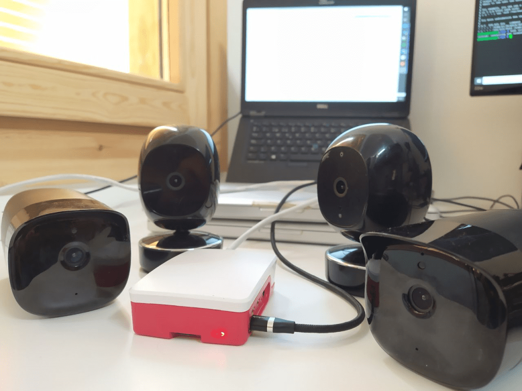Simcam IP cameras and Raspberry Pi