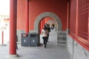 Forbidden City arch