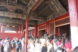 Forbidden City cieling
