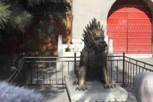 Forbidden City garden dragon